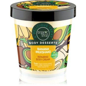 Organic Shop Body Desserts Banana Milkshake cremă de corp regeneratoare