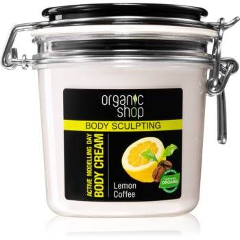 Organic Shop Body Sculpting Lemon Coffee crema delicata efect de remodelare. poza