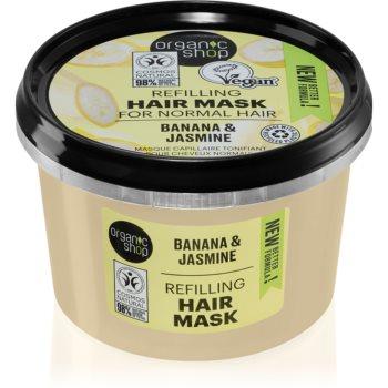 Organic Shop Organic Jasmine & Jojoba Masca de par pentru volum imagine