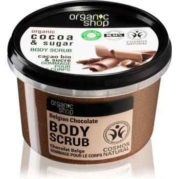 Organic Shop Body Scrub Cocoa & Sugar exfoliant pentru corp poza
