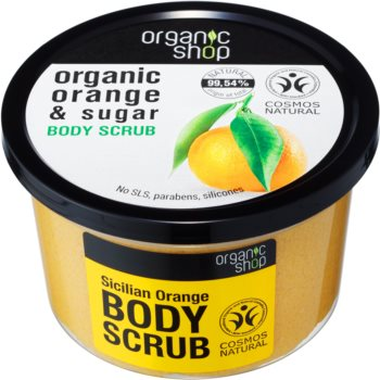 Organic Shop Organic Orange & Sugar