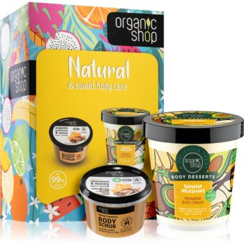 Organic Shop Natural & Sweet Body Care set cadou (pentru corp) poza