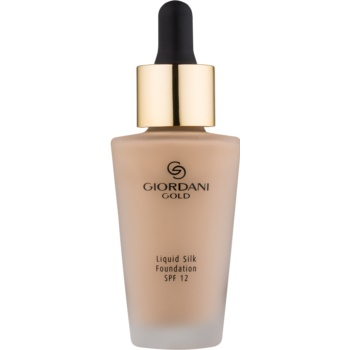 Oriflame Giordani Gold machiaj natural SPF 12 Light Ivory 30 ml