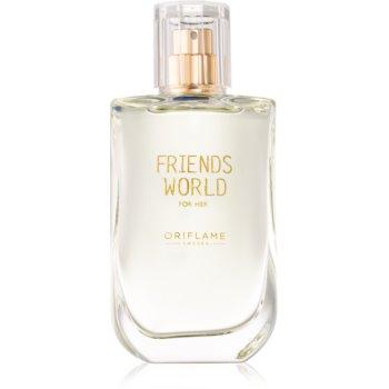 Oriflame Friends World for Her eau de toilette pentru femei 50 ml