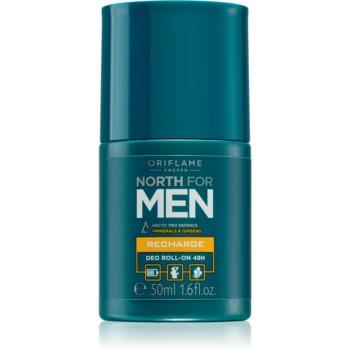 Oriflame North For Men Deodorant roll-on pentru barbati imagine produs