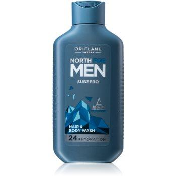 Oriflame North For Men gel de dus si sampon 2in1 pentru barbati