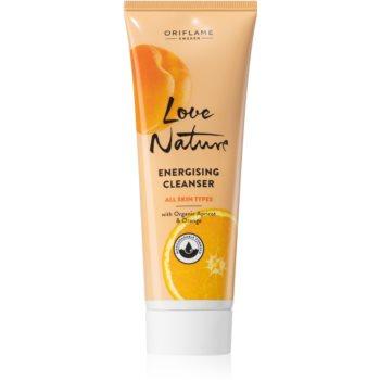 Oriflame Love Nature gel de curatare energizant pentru a improspata porii si pielea cu aspect obosit poza noua