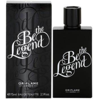 Oriflame Be the Legend toaletní voda pro muže 75 ml