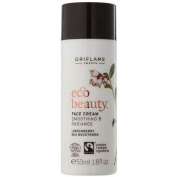 Oriflame Eco Beauty crema de zi lumineaza si catifeleaza pielea