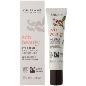 Oriflame Eco Beauty aufhellende Crem für die Augenpartien 1