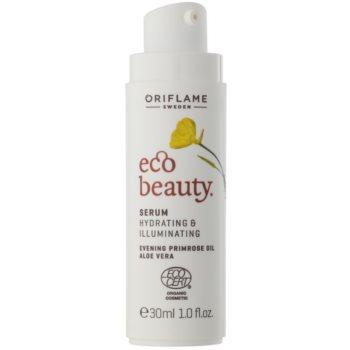 Oriflame Eco Beauty ser cu efect iluminator pentru toate tipurile de ten 1
