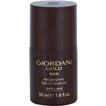 Oriflame Giordani Gold дезодорант кульковий для чоловіків