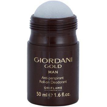 Oriflame Giordani Gold дезодорант кульковий для чоловіків 1