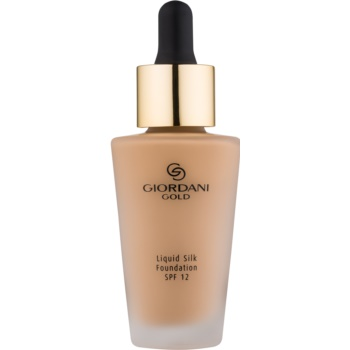 Oriflame Giordani Gold machiaj natural SPF 12 Amber 30 ml