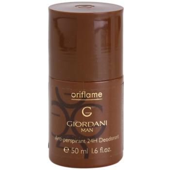 Oriflame Giordani Man дезодорант кульковий для чоловіків
