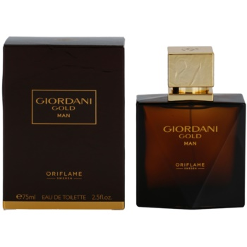 Oriflame Giordani Gold Man eau de toilette pentru barbati 75 ml