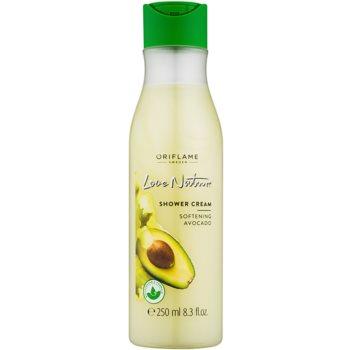 Oriflame Love Nature gel-crema de dus cu avocado