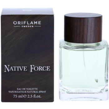 Oriflame Native Force туалетна вода для чоловіків