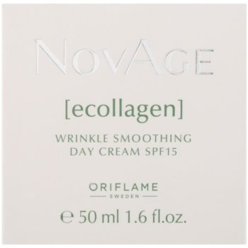 Oriflame Novage Ecollagen изглаждащ крем против бръчки SPF 15 2