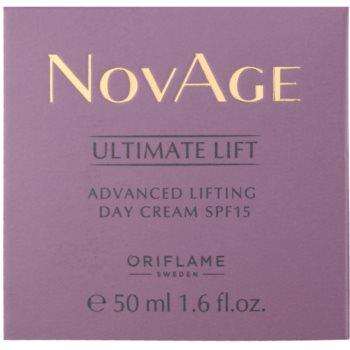 Oriflame Novage Ultimate Lift denní liftingový krém SPF 15 2