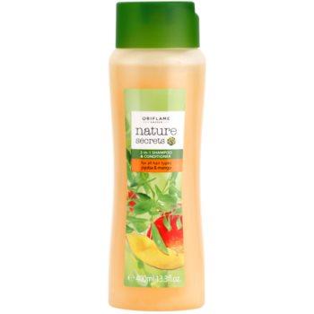 Oriflame Nature Secrets šampon a kondicionér 2 v 1 pro všechny typy vlasů
