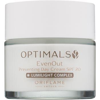 Oriflame Optimals crema de zi protectoare SPF 20