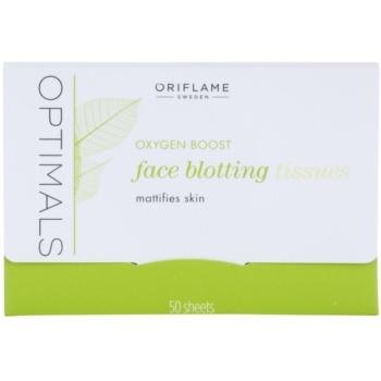 Oriflame Optimals Oxygen Boost mattosító papír