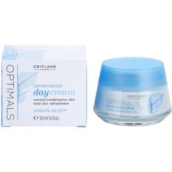 Oriflame Optimals Oxygen Boost osvěžující denní krém pro normální až smíšenou pleť 1