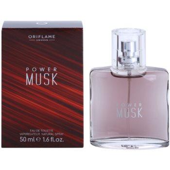 Poza Oriflame Power Musk Eau de Toilette pentru barbati 50 ml