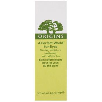 Origins A Perfect World™ straffendes Augen Serum mit weißem Tee 3