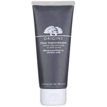 Origins Clear Improvement® máscara de limpeza para reduzir o sebo cutâneo e minimizar os poros