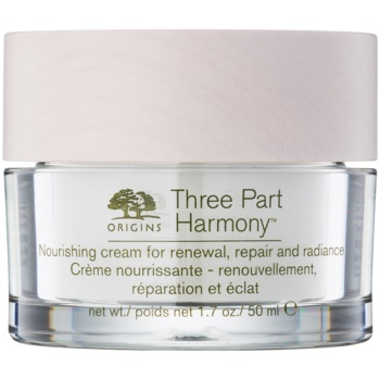 Image of Origins Three Part Harmony™ Nourishing Cream for Renewal Repair and Radiance 50 ml