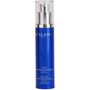 Orlane Extreme Line Reducing Program crema anti-rid cu o protectie UV ridicata