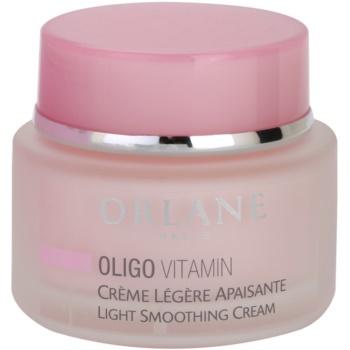 Orlane Oligo Vitamin Program crema usor emolienta pentru piele sensibila