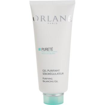 Fotografie Orlane Purete Program vyrovnávací čisticí gel pro normální až mastnou pleť 200 ml