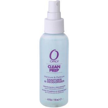 Orly Clean Prep почистващ и дезинфекциращ спрей за ръце, нокти и ходила 1