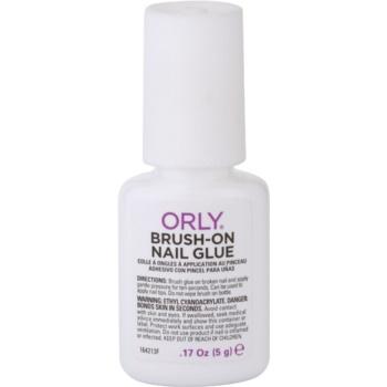 Orly Brush-On Nail Glue adeziv pentru repararea rapida a unghiilor  5 g
