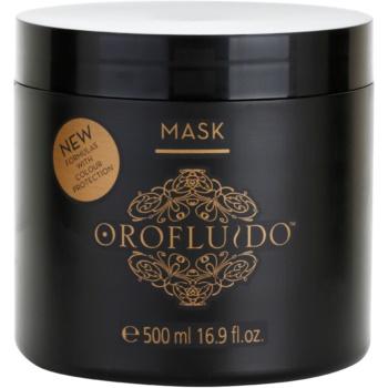 orofluido beauty masca pentru hidratare intensa pentru par natural sau vopsit