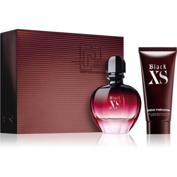 Paco Rabanne Black XS parfémovaná voda 80 ml + tělové mléko 100 ml