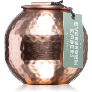 Paddywax Patina Evergreen & Embers lumânare parfumată