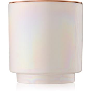 Paddywax Glow Cotton & Teak lumânare parfumată