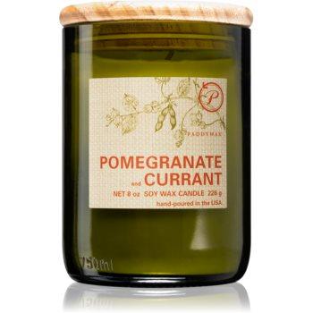 Paddywax Eco Green Pomegranate & Currant lumânare parfumată
