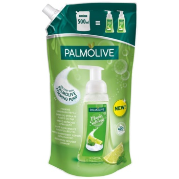 Palmolive Magic Softness Lime & Mint Sapun spuma pentru maini rezervã imagine produs