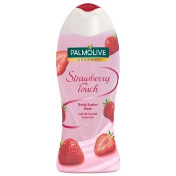 Palmolive Gourmet Strawberry Touch gel de dus imbogatit cu unt