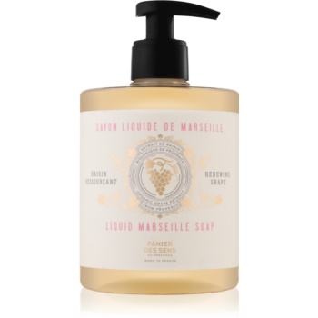 Panier des Sens Renewing Grape tekuté mýdlo na tvář, ruce a tělo 500 ml