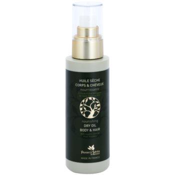 Panier des Sens Olive vyživující suchý olej na obličej, tělo a vlasy