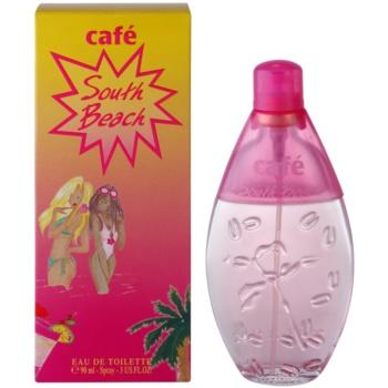 Parfums Café Café South Beach Eau de Toilette pentru femei 90 ml