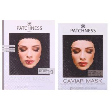 Patchness Luxury поживна маска з чорною ікрою 1
