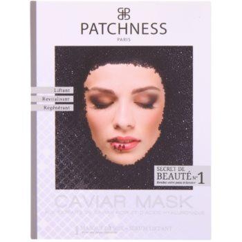 Patchness Luxury поживна маска з чорною ікрою 2