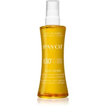 Payot Sun Sensi ulei cu protectie solara pentru piele si par SPF 50+